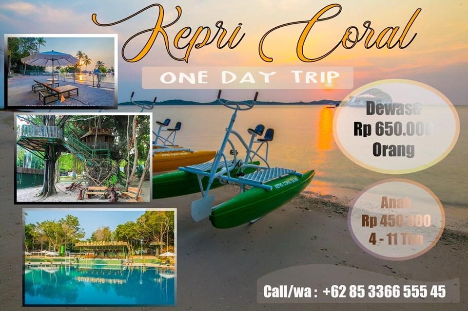 085-33-66-555-45 Pengalap Island Region Kepri Coral Resort is very popular in the waters of Batam City